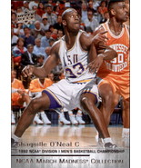 2014-15 Upper Deck March Madness Collection #SO3 Shaquille O'Neal SP - $5.00