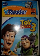 V.Reader Disney Pixar Toy Story 3 Reading Learning Game Vtech - $7.91