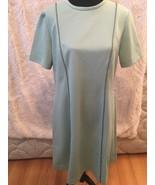 Vintage Women's Hopewell Mint Green Mod Shift Dress Short Sleeve Size 18-C - $49.50