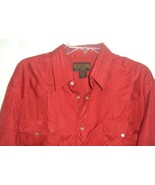Buffalo Country USA Mens Metallic Stripe Pearl Snap XL Shirt Rockabilly ... - $19.75