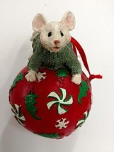 Merry Chrismouse on Ball Ornament (Boy) - $17.50