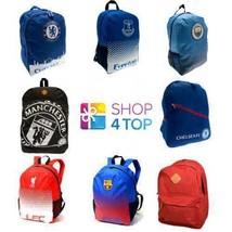 OFFICIAL FOOTBALL SOCCER CLUB TEAM BACKPACK SCHOOL SPORT TRAVEL BAG LICE... - ₹1,639.95 INR+