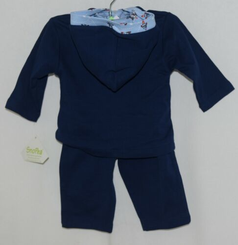 SnoPea Baby Boy Blue Airplanes Long Sleeve Shirt Pants 9 Months