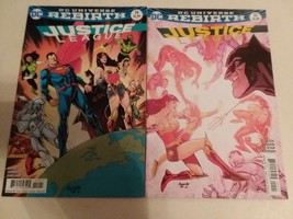 JUSTICE LEAGUE: REBIRTH - #14 AND #15 - FREE SHIPPING! - $9.50