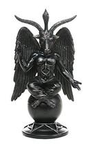 Baphomet Horned Sabbatic Goat Solve et Coagula Statue 10 Inch Tall - $32.57