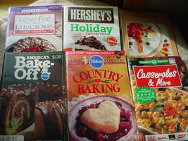 PILLSBURY BAKE OFF 28TH & COUNTRY BAKING PLUS 4 MORE PB COOKBOOKS FREE U... - $9.89