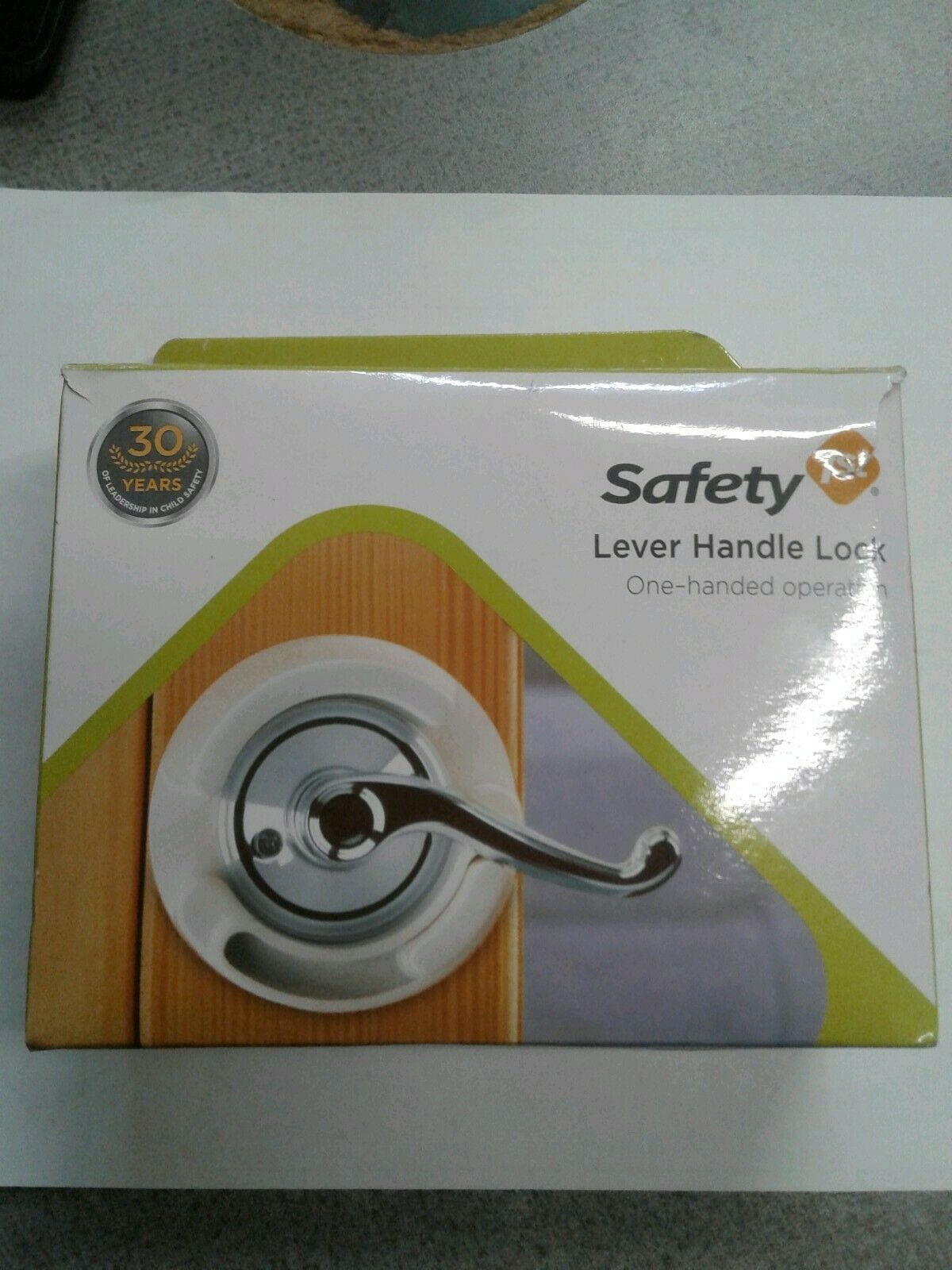 Safety 1st Lever Handle Lock One Handed Operation