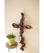 Beautiful Curly Vine Cross Wall Decor.21'' x 36''H. - $64.35