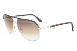 Tom Ford Cole Gold Havana / Brown Gradient Sunglasses TF285 52K - $224.42