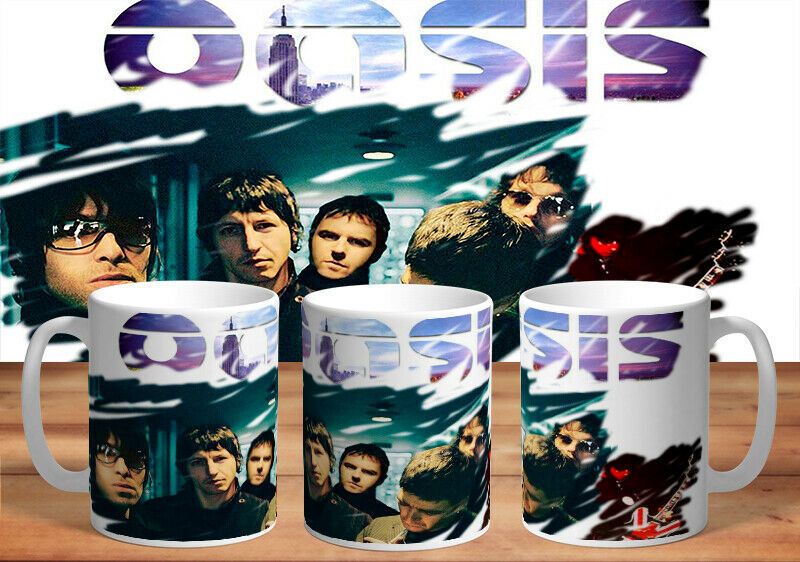 Primary image for OASIS 11oz MUGS - VARIOUS DESIGNS - PERFECT GIFT