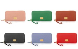 JOY Genuine Leather Organizer Wallet with RFID Protection - Joy Mangano - $26.99