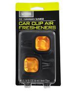 Car Clip Air Freshener Hawaiian Sunrise 2 Pack - $4.69