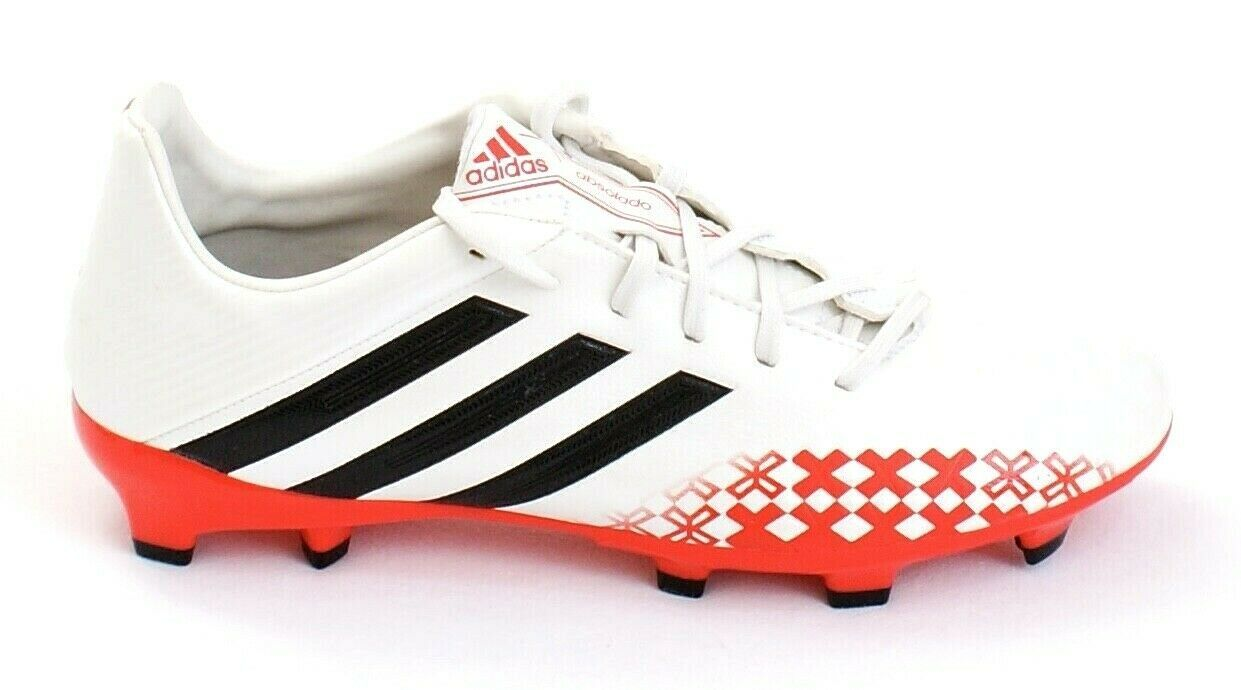 Primary image for Adidas Predator Absolado LZ TRX White & Red  FG Soccer Cleats Men's 7 NEW