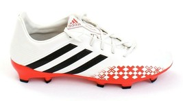 Adidas Predator Absolado LZ TRX White & Red  FG Soccer Cleats Men's 7 NEW - $69.29