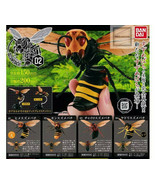 BANDAI BIG Vespinae 02 Figure Asian giant hornet yellow hornet set of 4 ... - $80.41