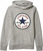 Converse Kids Boy's Chuck Patch Fleece Pullover Hoodie (Big Kids) M - $39.99