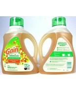 2 Ct Gain 75 Oz Botanicals Orange Blossom Vanilla Plant Based 48 Loads D... - $45.99