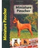 Miniature Pinscher : Charlotte Schwartz - New UK Hardcover Breed Book    @ - $21.95