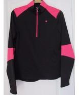 Champion Powertrain Women's 1/4 Zip Athletic Pullover Long Sleeve Black ... - $18.80