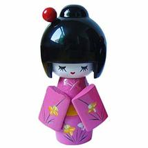 PANDA SUPERSTORE Cute Shy Girls Japanese Kimono Doll Toy for Home Office Desk De