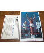 1998 MUHAMMED ALI VICTORY REPUBLIQUE CENTRAFRICAINE STAMP SHEET - $6.92