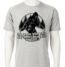 Big Foot Dri Fit graphic printed T-shirt funny yeti UPF +50 active sun shirt image 1