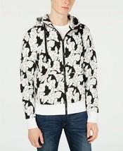 Michael Kors Men's Floral Graphic Hoodie, Size L, MSRP $128 - $48.85