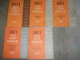 1971 Ford Truck Camiones Bronco Econoline Club Serie F Service Tienda Manual - $163.08
