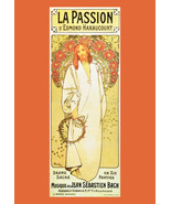 "11x14""Decor Canvas.Interior design Art Nouveau.Christ Passion in French.... - $28.05"