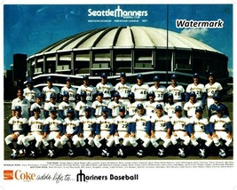 MLB 1977 Seattle Mariners 1st Season Franchise History Team Picture 8 X ... - $5.99