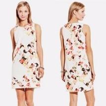 VINCE CAMUTO Chic 'Broken Photo' Floral Print Shift Dress ( Sz.- 6 ) NWT $129.00 - $43.01