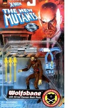The New Mutants Action Figures - 3 Different - 1998 by Toy Biz - $60.00