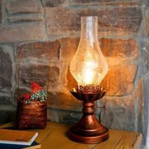 Retro Desk Lamp Kerosene Vintage Industrial Bedside Living Room Night Light - $72.19