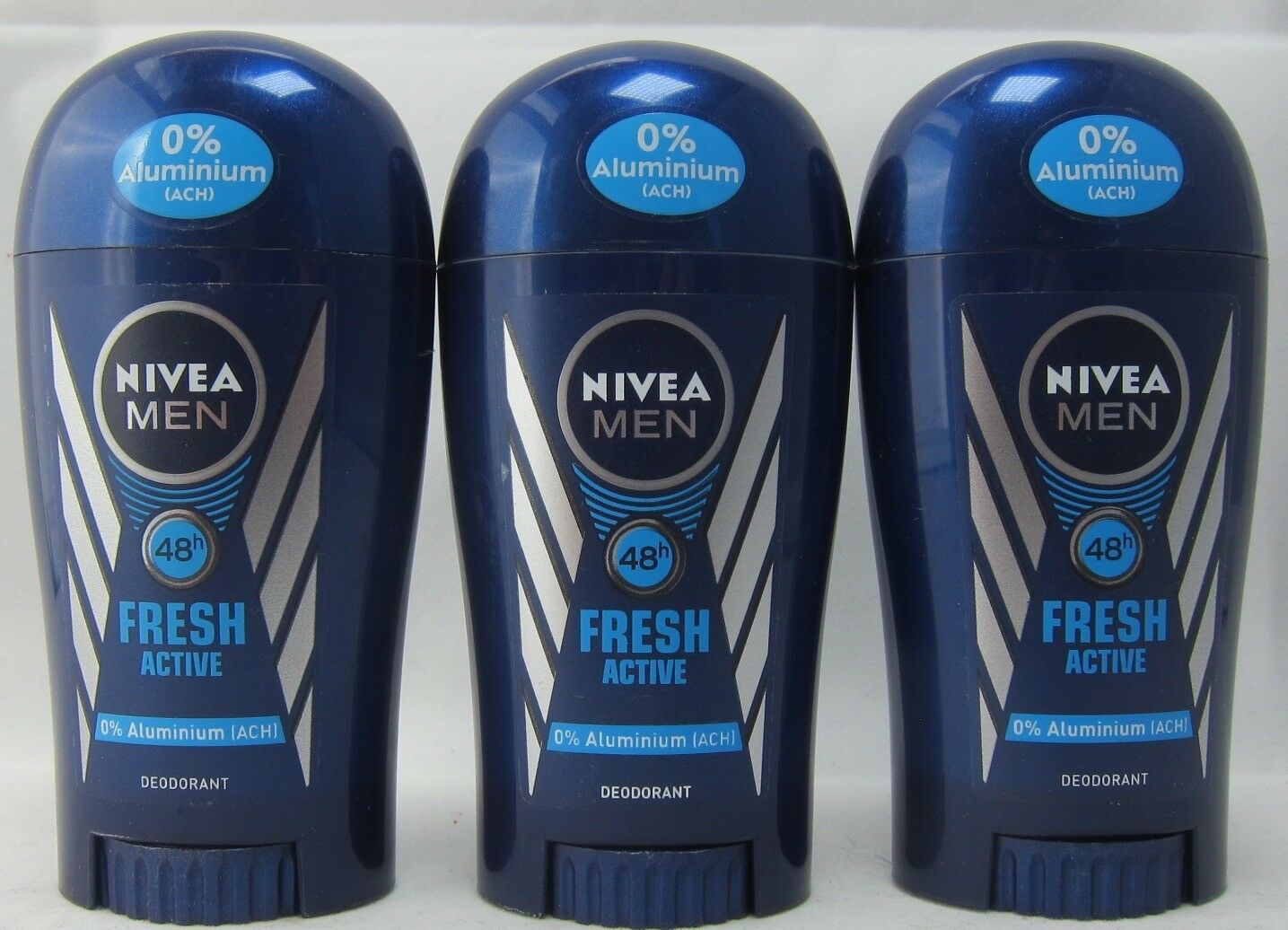 Nivea Men Fresh Active roll-on deodorant anti-perspirant 3 x 40ml- FREE SHIPPING