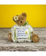 "Boyds Bears ""Blossom Florabloom"" 10"" Plush Bear- #4015941-  2009- Retired - $29.99"