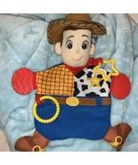 Disney Baby Pixar Toy Story Woody Activity Teether Blankie - $18.67