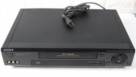 Sony SLV-779HF Hi-Fi Stereo 4 Head Vhs Vcr Recorder No Remote For Parts - $31.74