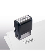 Confidential Stock Title Stamp - $12.50