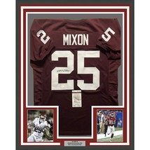 FRAMED Autographed Signed JOE MIXON 33x42 Oklahoma Red College Jersey JS...  - 801cdd51c