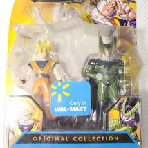 New 2008 Dragon Ball Z Bandai Original Collection Super Saiyan Goku Cell... - $37.09