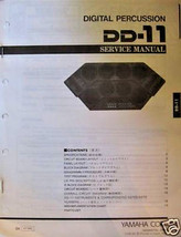 Yamaha DD-11 Digital Percussion Digital Drum Pads Original Service Manua... - $14.84