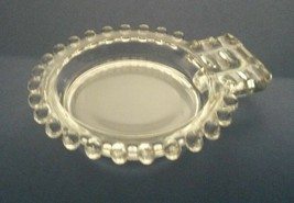Imperial Glass Ohio Candlewick Clear Ashtray 400/18 - $14.54