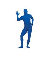 Fun World Skin Suit Adult Costume Blue NIP - $29.09