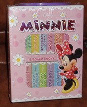 Disney Minnie (Book Blocks) 12 sturdy board books - New in Carry Case - $13.86