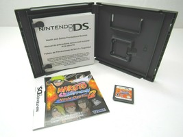 Naruto Shippuden Ninja Destiny 2 Nintendo DS 2009 Multiplayer Fighting C... - $12.74