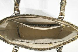 NWT Brahmin Medium Asher Embossed Leather Tote/Shoulder Bag in Chicory Melbourne image 9