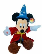 "Walt Disney Plush Stuffed Animal Vtg Mickey Mouse 22"" Fantasia tag nwt w... - $38.65"