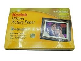 "Kodak  Ultima Picture Paper, High Gloss (4"" x 6"", 60 Sheets) 71 LBS - $4.99"
