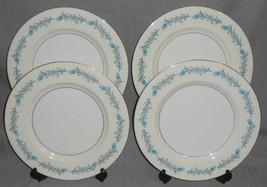 Set (4) Theodore Haviland CLINTON PATTERN Dinner Plates NEW YORK - $31.67