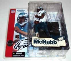 Donovan McNabb 02 McFarlane Philadelphia Eagles White Jersey Variant Fig... - $29.65
